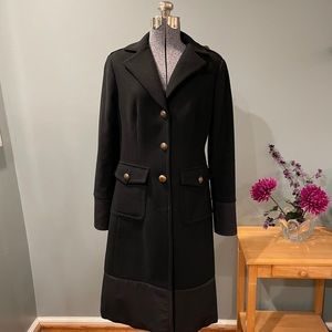J. Crew Military Wool Trench